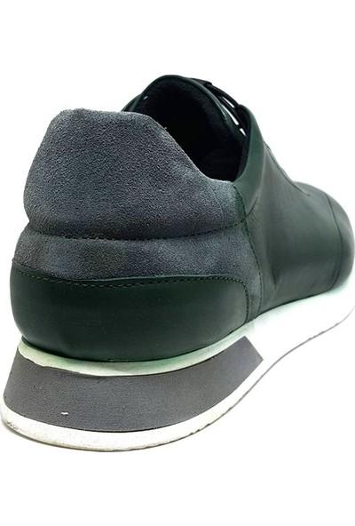 Shop And Shoes 305-6533-1 Erkek Ayakkabı Yeşil