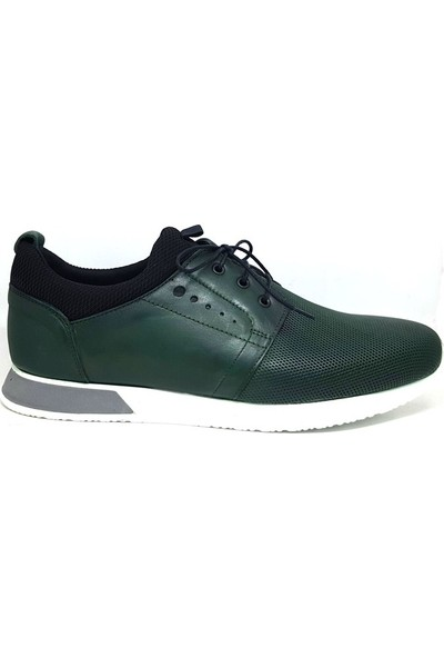 Shop And Shoes 305-6533-7 Erkek Ayakkabı Yeşil