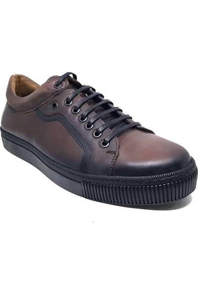 Shop And Shoes 305-6757-9 Erkek Ayakkabı Kahve