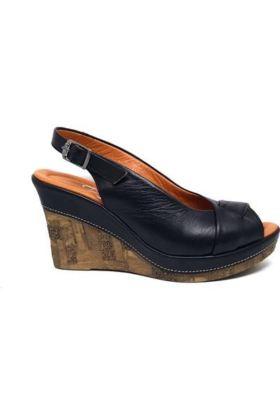 Shop And Shoes 007-1099024 Kadın Sandalet Siyah