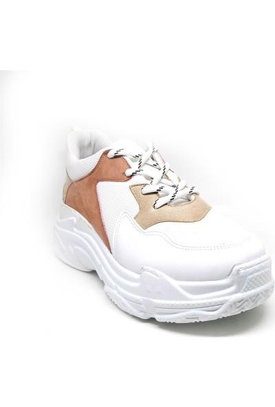 Shop And Shoes 173-13160 Kadın Ayakkabı Pudra