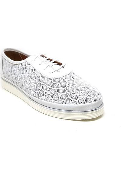Shop And Shoes 197-505 Kadın Ayakkabı Beyaz