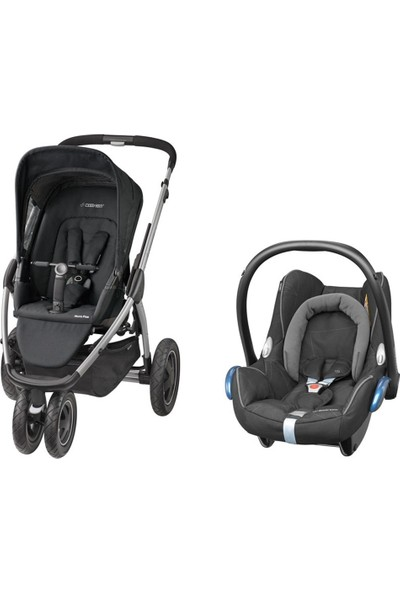 Maxi-Cosi Mura Plus 3 Travel Sistem Bebek Arabası Black Raven