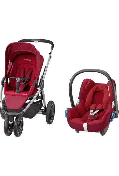 Maxi-Cosi Mura Plus 3 Travel Sistem Bebek Arabası Robin Red