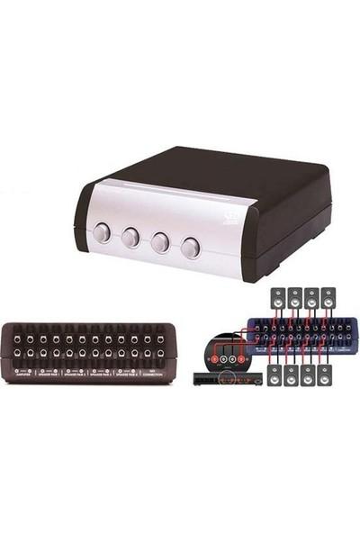 Qed A-Ss40 4 Çift Stereo Hoparlör Dağıtıcı
