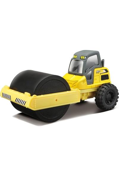 Maisto İnşaat Araçları Street Roller İş Makinası Sarı Metal Gövde
