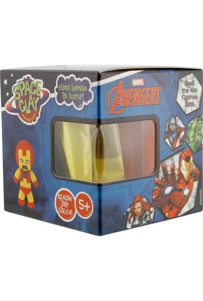 Space Clay Heykelciğini Yarat Avengers Iron Man Figür
