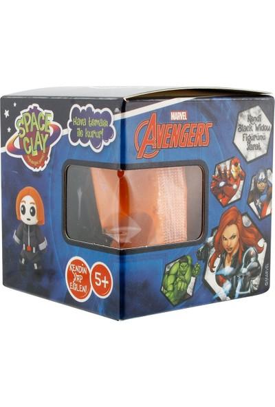 Space Clay Heykelciğini Yarat Avengers Black Widow Figür