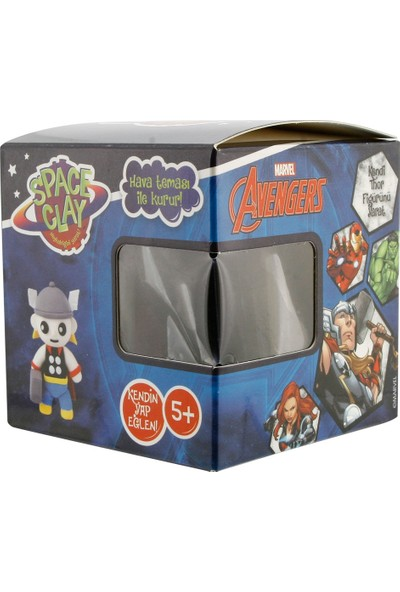 Space Clay Heykelciğini Yarat Avengers Thor Figür