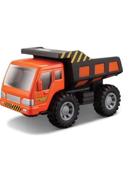 Maisto İnşaat Araçları Dump Truck İş Makinası Turuncu Metal Gövde