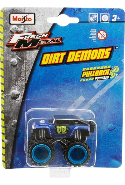 Maisto Dirt Demons 2008 Hummer HX Oyuncak Araba