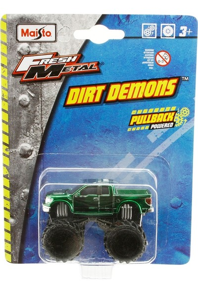Maisto Dirt Demons Ford F-150 SVT Oyuncak Araba