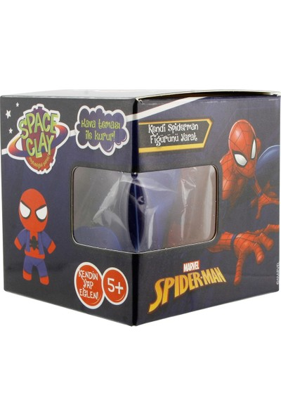 Space Clay Heykelciğini Yarat Avengers Spiderman Figür