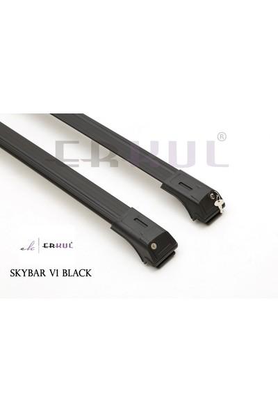 Erkul Ssangyong Rodius 2004 üzeri Ara Atkı Skybar V1 Siyah