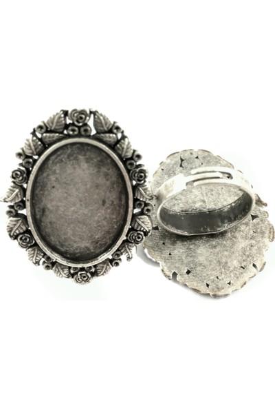 Gümüş Kaplama Yüzük Aparatı 2301