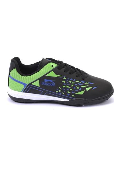 Slazenger Monkey Futbol Çocuk Ayakkabı Siyah - Yeşil