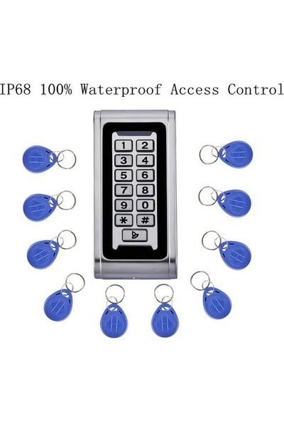 Zeda E-2 RFID Şifreli Kartlı Elektronik Kapı Açma Kilidi - Su Geçirmez
