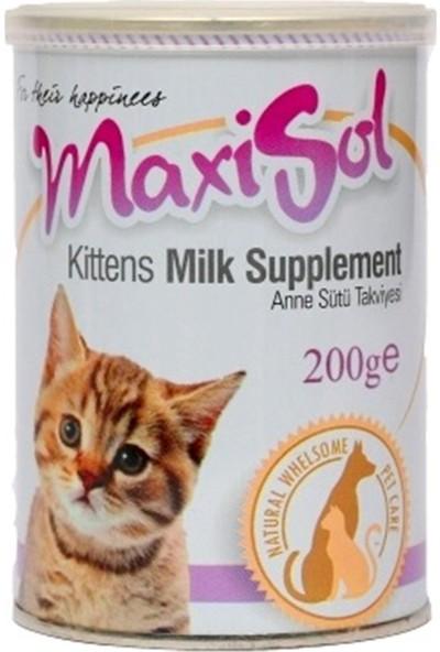 Maxisol Kedi Süt Tozu 200 Gram