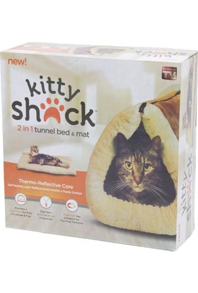 Kitty Shack Kedi İçin Yatak Ve Battaniye