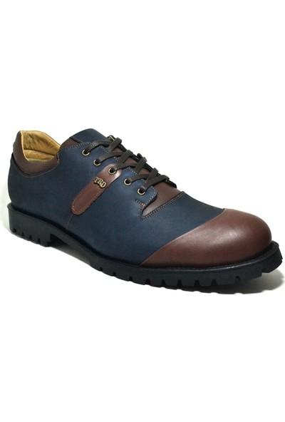Tardelli Hakiki Deri Nubuk Büyük Numara Erkek Ayakkabı