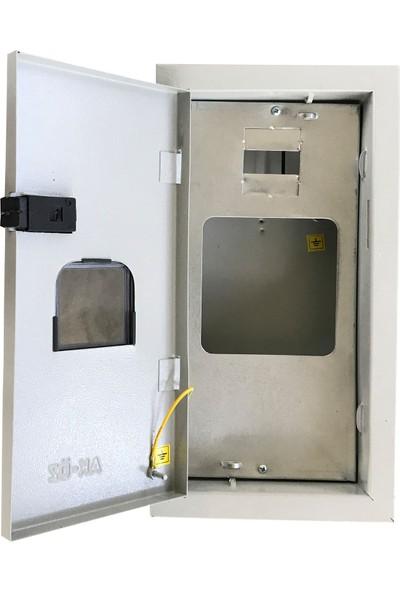 Ak-Öz Sıva Altı 1 Monofaze Sayaçlı Elektrik Panosu Çıkışsız