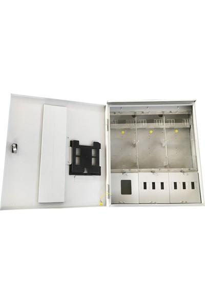 Ak-Öz Sıva Üstü 3 Trifaze Sayaçlı Elektrik Panosu Polikarbon Kapaklı