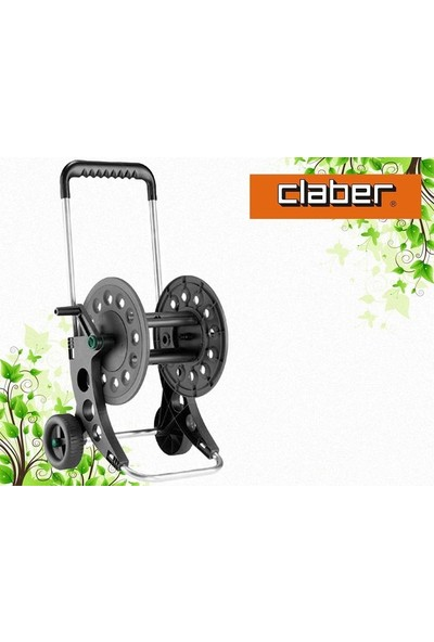 Claber 8940 Aquavıva 60 Hortum Arabası
