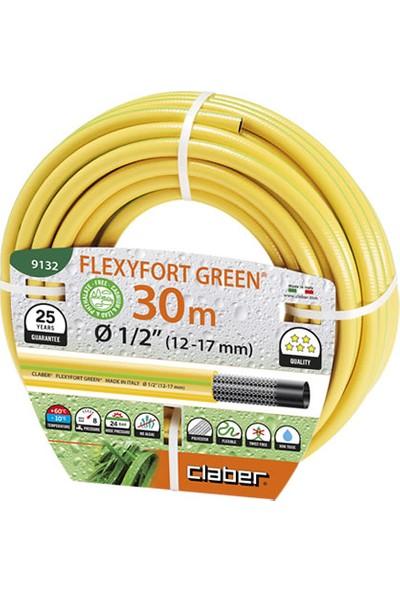 """Claber 9132 Hortum Flexyfort Green 30M Çap 1/2"""""""
