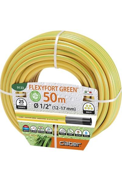 """Claber 9133 Hortum Flexyfort Green 50M Çap 1/2"""""""