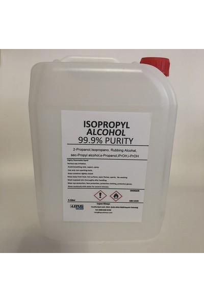 Lepus İpa İzopropil Alkol C3H70H (%99,9 Saflık) 5 Litre Lt Lepus Kimya