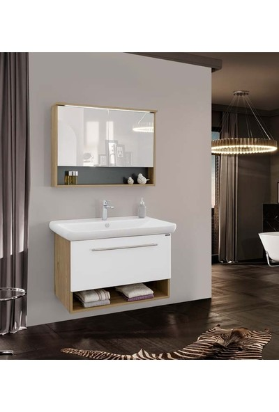 Lineart Viva 1000 96Cm Banyo Dolabı