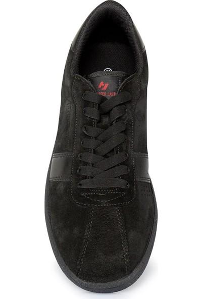 Buenza Hammer Jack Nubuk Siyah Erkek Ayakkabı