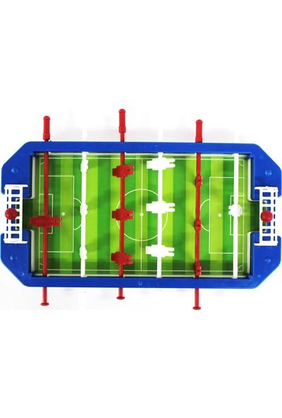 Özmiş Oyuncak Langırt Futbol Oyunu 30 cm Kırmızı Lacivert