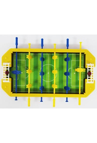 Özmiş Oyuncak Langırt Futbol Oyunu 30 cm Sarı Lacivert