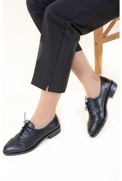 Fox Shoes Siyah Kadın Ayakkabı F288190109