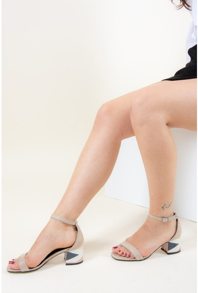 Fox Shoes Ten Kadın Topuklu F572429902