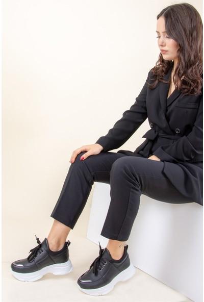 Fox Shoes Siyah Kadın Sneakers F367094209