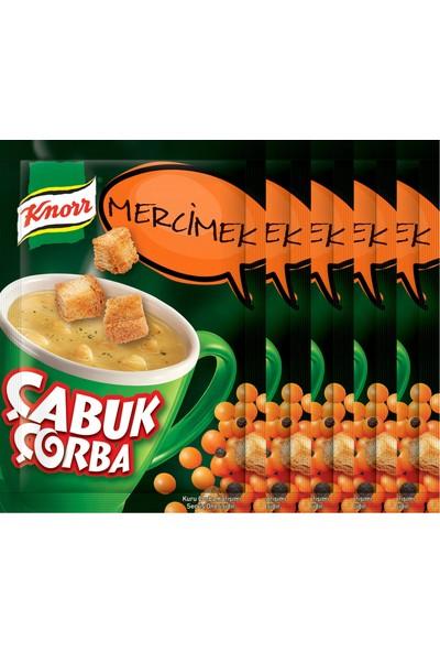 Knorr Çabuk Çorba Mercimek Çorbası 5'li Paket