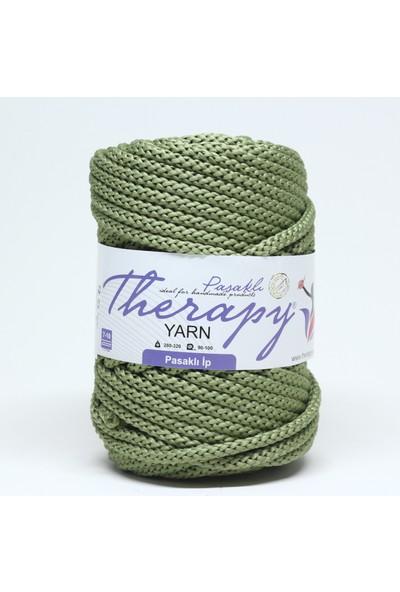 Therapy Yarn Yeşil Pasaklı İp