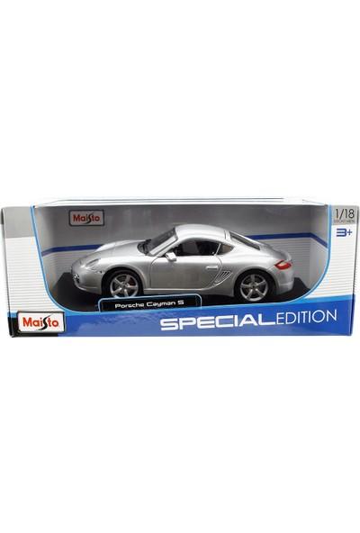 Maisto Porsche Cayman S 1:18 Model Araba Gümüş