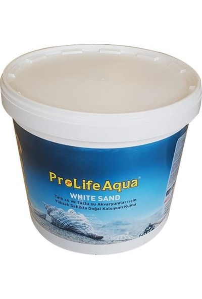 Ert ProlifeAqua White Sand Kalsiyumlu Kum 2mm 10kg