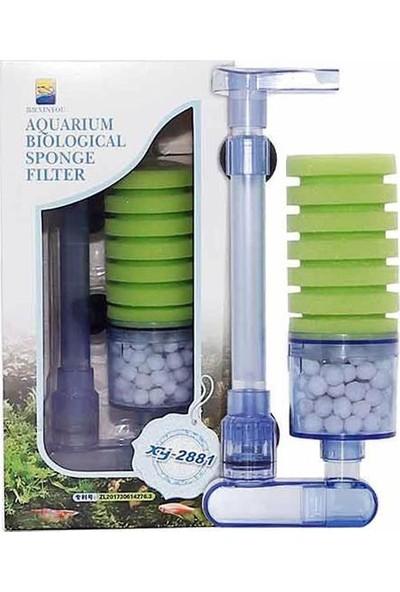 XinYou 2881 Tekli Biyolojik Dikey Sünger Filtre