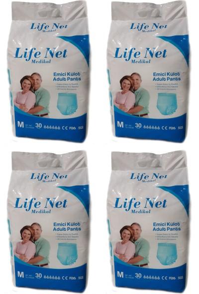 Life Net Medikal Külotlu Hasta Bezi 120 Adet Medium