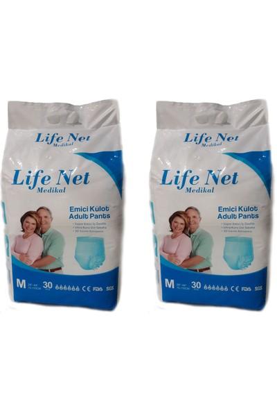 Life Net Medikal Külotlu Hasta Bezi 60 Adet Medium