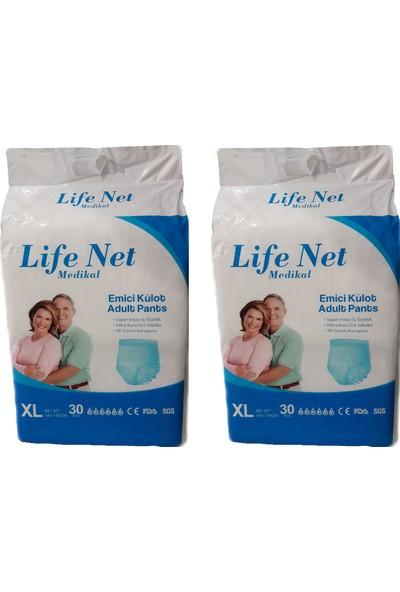 Life Net Medikal Külotlu Hasta Bezi 60Adet Xlarge