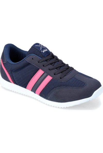 Kinetix Avila Mesh W Lacivert Fuşya Kadın Sneaker Ayakkabı
