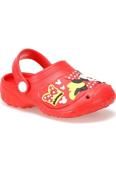 Mickey Mouse 92603 Kırmızı Kız Çocuk Terlik