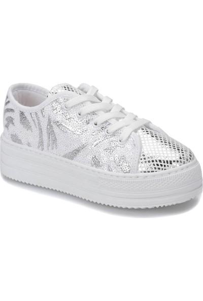 Pink Step 91.Desy-2.F Beyaz Kız Çocuk Ayakkabı