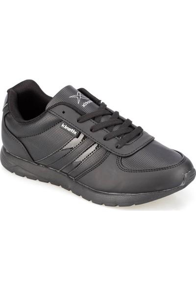 Kinetix Valerin W Siyah Siyah Kadın Sneaker Ayakkabı