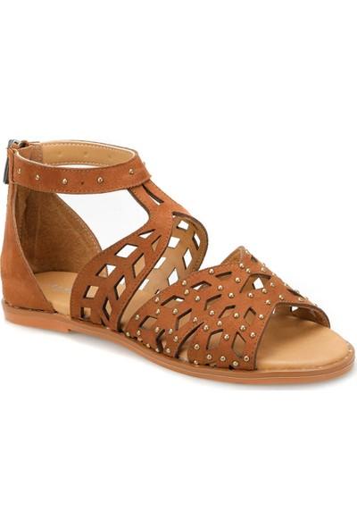 Butigo 19S-352 Taba Kadın Sandalet